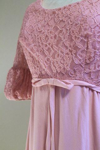 Pink Lace Dress 4