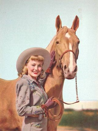 Cowgirl-of-the-day wildwestland blog