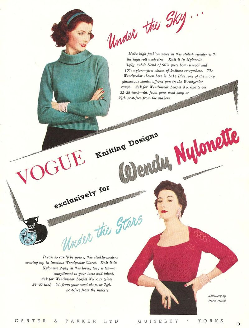 Vintage Vogue Pink Cardi 4