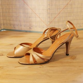 Gold Sandal 1