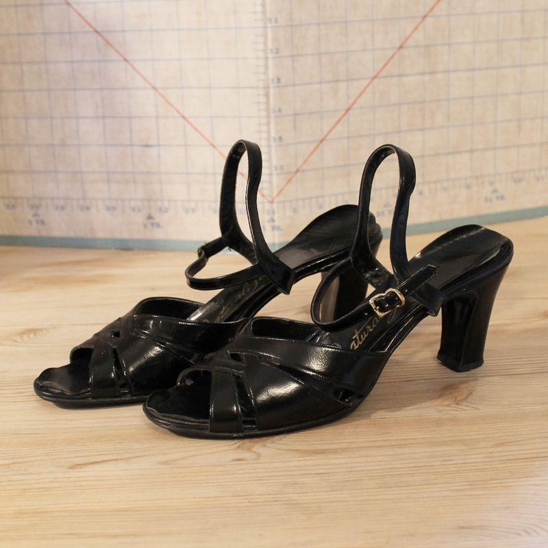 Black Sandal 1