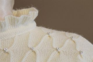 White Beaded Sweater 3