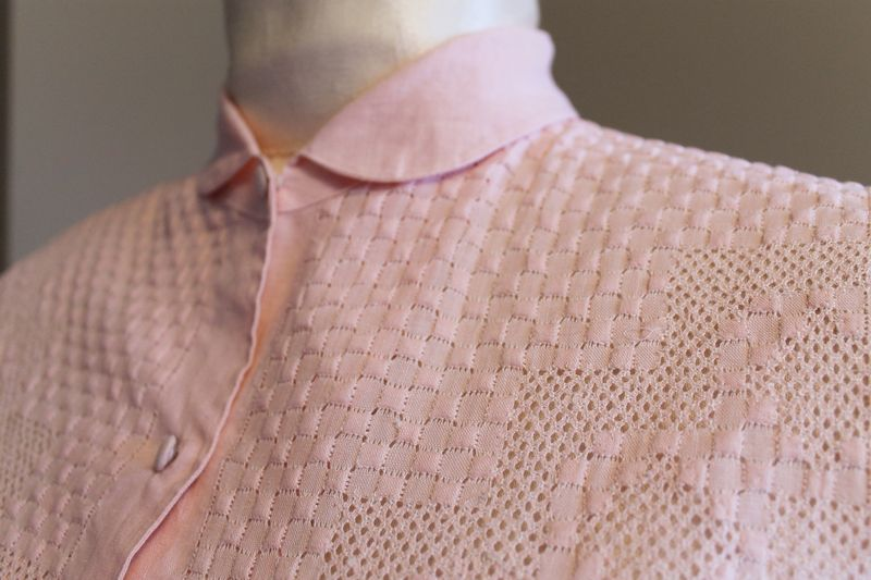 Pink 50s Blouse 3