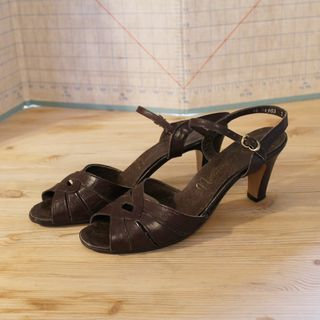 Brown Sandal 1